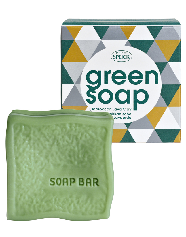 Pure Plant Oil Green Soap, Lava Clay